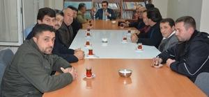 Kanaat önderlerinden Kaymakam Alibeyoğlu'na ziyaret