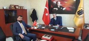 alatya Koyun Keçi Yetiştiricileri Birliği Başkanı Akın'dan Prof.Dr. Nihat Tursun' a ziyaret