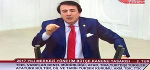 """Milletvekili Aydemir'den TBMM'de """"Pasinler hatırlatması"""""""