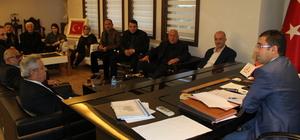 AK Parti teşkilatından Kaymakam Tekin'e ziyaret