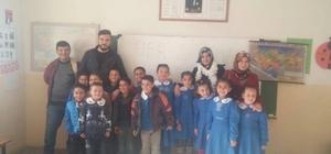 'Her zaman yanınızdayız' projesi ekibi Saraycık mahallesinde