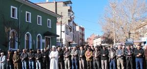 Hisarcık'ta Halep şehitleri için gıyabi cenaze namazı