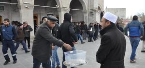 Kars'ta Halep'te katledilenler için gıyabi cenaze namazı kılındı
