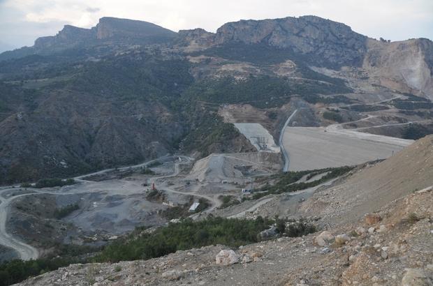 Pamuklu Barajı'nın yüzde 85 tamamlandı