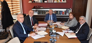 TESKİ Yönetim Kurulu Aralık ayı toplantısını gerçekleştirdi