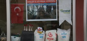 Halep'e insani yardım kampanyası