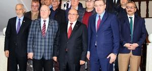 Türkiye Gazeteciler Konfederasyonu'ndan Vali Çiçek'e ziyaret