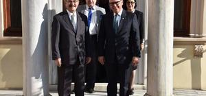 Eskişehir Büyükşehir Belediye Başkanı Büyükerşen'in Tekirdağ temasları