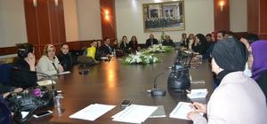 """Erzurum'da """"Aile İçi Şiddetle Mücadele"""" Projesi Teknik Kurul Toplantısı"""