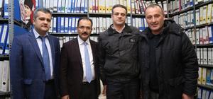 Başkan Cahan DSİ 23. Şube Müdürlüğünü ziyaret etti