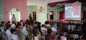 Bodrum'da öğrencilere geri dönüşüm ve farkındalık semineri