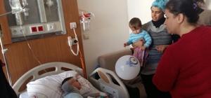 Kilis Belediyesinden hasta çocuklara moral ziyareti