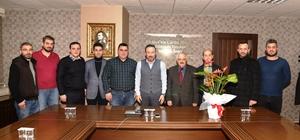 Amatör spor kulüplerinden Başkan Doğan'a ziyaret