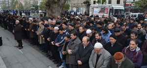 Suriye'de hayatını kaybedenler için Trabzon'da gıyabi cenaze namazı kılındı