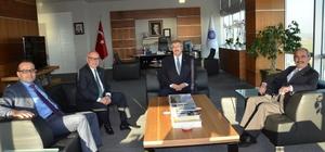 Eskişehir Büyükşehir Belediyesinden NKÜ'ye ziyaret