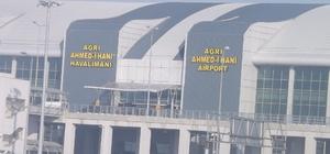 Ağrı Ahmed-İ Hani Havalimanı'nda 19 bin 984 yolcuya hizmet verildi