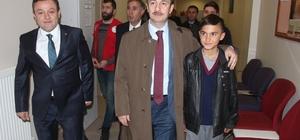 Spor Genel Müdür Yardımcısı Ömer Altunsoy Ağrı'ya geldi