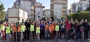 Başkan Uysal'dan 'Bisiklet için 6 Mart kampanyası'