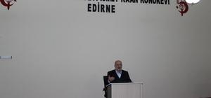 """Edirne'de """"Dinde Aşırılık"""" konferansı"""
