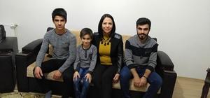 Kadın Kolları Başkanından Recep-Tayyip-Erdoğan kardeşlere ziyaret