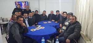 Başkan Yalçın'dan Pazaryerililer Derneği'ne ziyaret