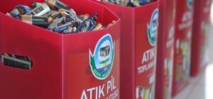 Serik'te Ödüllü Atık Pil Toplama Kampanyasının ikincisi başladı
