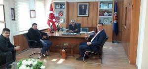 Başkan Duymuş'un Bursa temasları