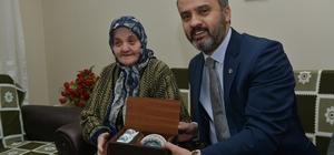 Örnek vatandaşa Aktaş'tan sürpriz ziyaret
