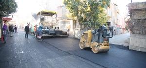Büyükşehir'in asfalt çalışmaları sürüyor