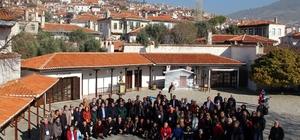 Gazeteciler tarihi Muğla evlerini gezdi
