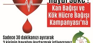 Söke'de Kan ve Kök Hücre Bağışı Kampanyası'na Çağrı
