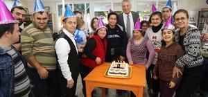 Mezitli Down Cafe birinci yaşını kutladı
