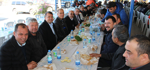 Emekli olan belediye personeline veda yemeği