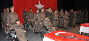 Karaman'da engellilerin bir günlük askerlik heyecanı