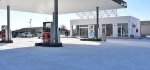 Eskil Belediyesi petrol istasyonunu yeniledi