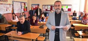 Aday öğretmenler deneme sınavına girdi