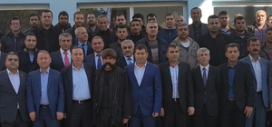 AK Parti Mardin İl Koordinatörü Ören, ilçe teşkilatlarını ziyaret etti