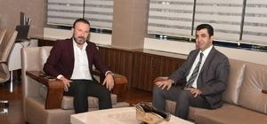 Başkan Doğan, Kocaeli Vergi Dairesi Başkanı Temiz'i ağırladı