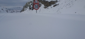Sivas'ta karla mücadele
