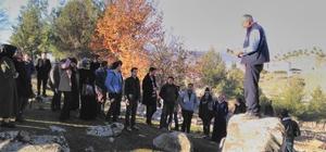 İslahiye'de öğretmen adayları tarihi ve turistik yerleri gezdi