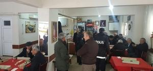 Kırşehir'de kaçakçılık ve asayiş uygulaması