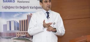 Özel Sani Konukoğlu Hastanesinde Sinüzitler anlatıldı
