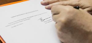 Anayasa değişikliği teklifinin TBMM Başkanlığına sunulması