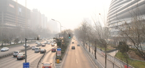 Çin'de hava kirliliğinden sarı alarm