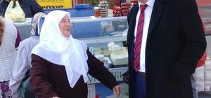 Başkan Duymuş halk pazarında