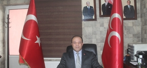 MHP Erzurum İl Başkanı Naim Karataş'tan Mevlid Kandili mesajı