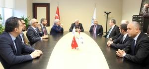 Başkan Karaosmanoğlu, GEBKİM yönetimini ağırladı