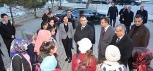 Vali Toprak'tan Belediye Başkanı Eşer'e teşekkür