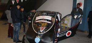 NİDA isimli elektrikli araç, vatandaşların beğenisini kazandı