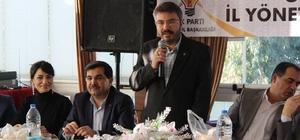 AK Parti yönetimi eski yöneticilerle bir araya geldi